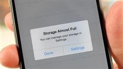 Làm thế nào để 'dọn dẹp' bộ nhớ iPhone, sẵn sàng update lên iOS 14?