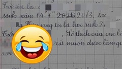 Học sinh lớp 2 viết văn tự giới thiệu bản thân, nội dung ra sao mà cô giáo hốt hoảng gạch vội đi còn bố mẹ ôm bụng cười lăn lộn