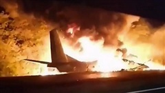 Máy bay quân sự rơi ở Ukraine, rất nhiều phi công thiệt mạng: Thảm kịch khủng khiếp!