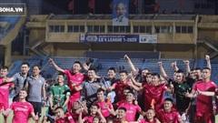 Tự hào với lối đá 'cực dị' để dẫn đầu V.League, đội bóng 'ngựa ô' vẫn chưa dám mơ vô địch