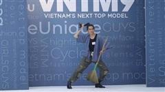 Vietnam's Next Top Model: Nam thí sinh quyết mang chổi từ Nam ra Bắc để thuyết phục bằng được giám khảo