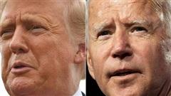 Hai ứng viên Nhà Trắng Donald Trump và Joe Biden sẵn sàng trận 'so găng' đầu tiên