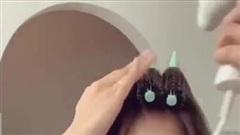 Hướng dẫn cách sấy tóc dài lỡ cỡ cực đẹp