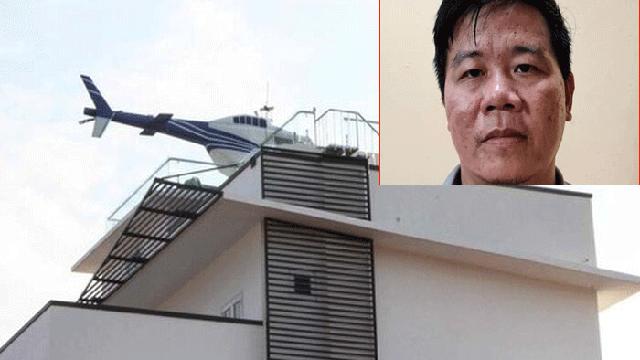 Chủ tòa biệt thự trưng máy bay trực thăng mô hình trên nóc nhà ở Hải Dương là trùm cá độ bóng đá giao dịch 1.000 tỷ đồng