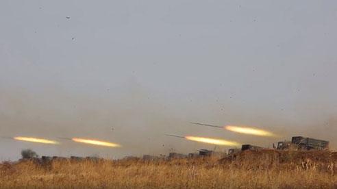 Choáng ngợp cảnh pháo phản lực Tornado-G bắn 500 quả rocket trong 20 giây