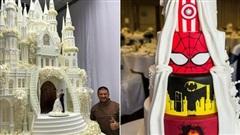 Mạng xã hội 'bùng nổ' trước những chiếc bánh cưới độc lạ nhất hành tinh, bất ngờ hơn cả là phiên bản hoành tráng của nữ hoàng Elizabeth II