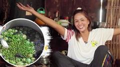 Bái phục khả năng ăn cay của H'Hen Niê: nấu nguyên nồi canh toàn ớt rồi lại giã ớt xanh ăn mà vẫn không hề hấn gì