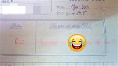 Nam sinh chép nguyên văn mẫu vào bài kiểm tra, cô giáo phê đúng 1 câu khiến ai cũng phục: Quá giỏi, không tài nào qua mắt được!