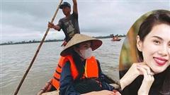 Thủy Tiên quyên góp được hơn 30 tỷ, tiết lộ khoảnh khắc 'hoảng loạn khi nước tràn mạnh vào thuyền'