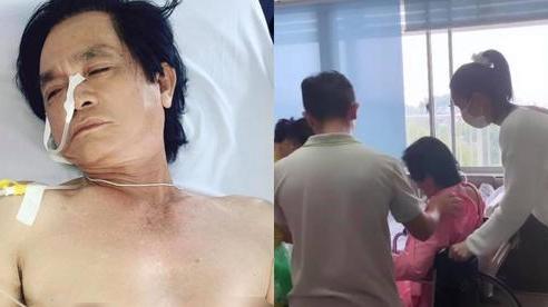 Bố nhập viện phẫu thuật, Ngọc Trinh đích thân kề cạnh chăm sóc: Khoảnh khắc nắm tay cha gây xúc động!