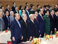 [Photo] Thủ tướng dự Đại hội đại biểu Đảng bộ tỉnh Nghệ An lần thứ XIX