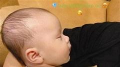 Duy Mạnh ví con trai là cục Kim Cương, hạnh phúc khi được ôm con ngủ khi trời lạnh