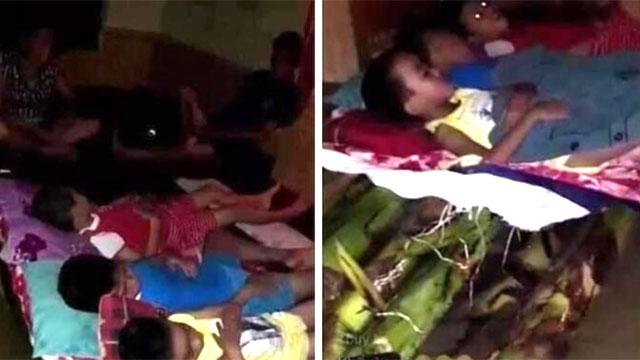 Người dân Quảng Trị lên mạng cầu cứu khẩn thiết trong đêm: Trẻ em phải ngủ trên thân chuối, nổi lên theo dòng nước lũ