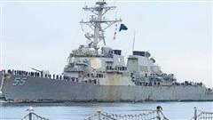 'Chiến hạm Arleigh Burke nát bươm sau chuyến đi biển kỷ lục'