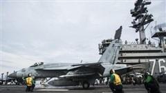 Xem nhóm tàu sân bay Mỹ huấn luyện tác chiến tại Biển Đông
