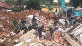 Tìm thấy 11 thi thể vụ sạt lở vùi lấp 22 cán bộ, chiến sỹ ở Quảng Trị