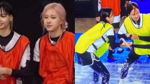 Nhan sắc BLACKPINK sau màn 'chiến' tơi bời tại Running Man: Mỹ nhân sang chảnh có lúc bết bê, tóc mái bất biến của Lisa gây choáng