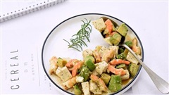 Nửa tháng trung thành với món salad này, 'bụng mỡ' của tôi đã giảm đi trông thấy