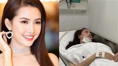 Hoa hậu Phan Thị Mơ nhập viện cấp cứu vì sốt cao và co giật