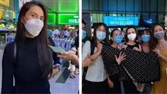Thuỷ Tiên trở về Sài Gòn sau 6 ngày cứu trợ ở miền Trung