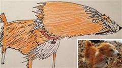 Vẽ chó mèo 'xấu như ma cấu' nhưng vẫn bán được 150 triệu đồng, họa sĩ bèn đem đi từ thiện cho đỡ mang tiếng