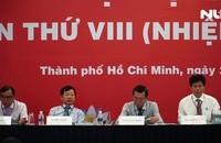 Ban Chấp hành Hội Nhà báo TP HCM khóa VIII gồm 15 người