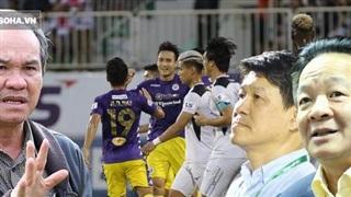 'Bầu Đức từng lên án bầu Hiển, sao có chuyện HAGL dâng điểm cho Hà Nội FC được?'