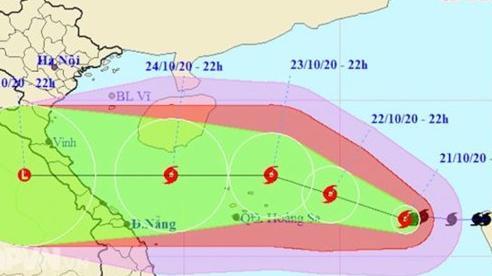 Tin Bão khẩn cấp(Cơn bão số 8)