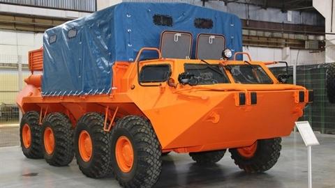 Nga bàn giao xe địa hình GAZ-59037A cho đối tác đặc biệt