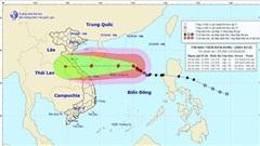 Cập nhật về bão số 8 trên biển Đông: Giật cấp 15 hướng vào Hà Tĩnh, Quảng Trị