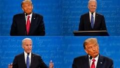 Tranh luận Trump - Biden: Những khoanh khắc 2 ứng viên đối đầu 'chan chát'