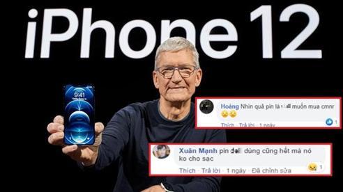 Đây là dung lượng pin của iPhone 12, người dùng bức xúc 'pin không dùng cũng hết mà còn chả cho sạc'