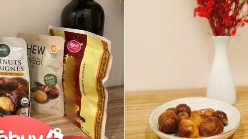 Trời lạnh ăn thử 3 loại hạt dẻ đóng gói, tách vỏ sẵn: Loại 18k rẻ nhất hóa ra lại ngon nhất?