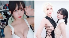 'Đọ ngực' với đồng nghiệp trên sóng, nữ streamer xinh đẹp bị cấm kênh một ngày, bức xúc vì án phạt vô lý