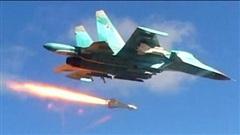Chiến sự Syria: Không quân Nga truy đuổi, dồn dập 'nã' đạn vào phiến quân IS dọc miền Trung nước này