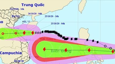 Bão số 8 đổ bộ Hà Tĩnh-Quảng Trị đêm nay, bão số 9 khả năng giật cấp 15 nối gót vào Biển Đông đêm mai
