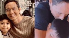 Thay cho mọi lời nói, Kim Lý có hành động chứng minh tình cảm với Subeo trước ngày đón nhóc tỳ song sinh