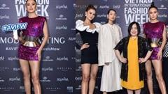 Đôi chân của Mâu Thủy chiếm chọn spotlight, lấn át cả quán quân Next Top Hương Ly tại buổi casting Tuần lễ thời trang Việt Nam 2020