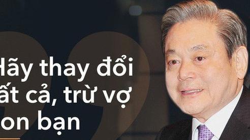 Chủ tịch Tập đoàn Samsung Lee Kun Hee và cuộc đại cải cách 'New Management 1993'