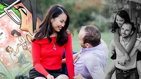 Chuyện hôn nhân của cô gái Việt và chồng Canada: Từ quyển truyện tranh tạo nên màn cầu hôn kỳ công tại New York, bố mẹ sốc khi biết có người yêu vì lời tuyên bố quá khứ