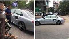 Xe chở bình oxi đâm thủng Mercedes trên phố Hà Nội, hình ảnh hiệnn trường khiến tất cả kinh hãi