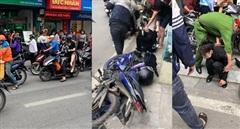 Khống chế tên cướp tiệm vàng trên phố Tôn Đức Thắng