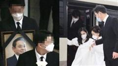 Lễ tang đưa tiễn chủ tịch Samsung về nơi an nghỉ cuối cùng: Gia quyến thất thần, chồng cũ cựu Á hậu Hàn Quốc cũng có mặt