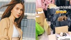 Người ta vào Zara mua sương sương vài triệu, riêng Ngọc Trinh 'quất' bill gần 38 triệu, Thúy Kiều xách 2 tay không xuể