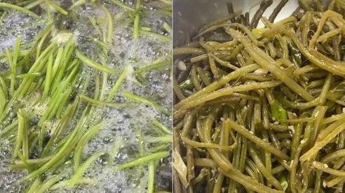 Loại rau 'rẻ bèo' ở Việt Nam nhưng sang Hàn Quốc phải bỏ tận 300k mới đủ ăn 1 bữa, cách chế biến cũng vô cùng khác biệt