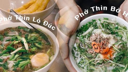 Sống ở Hà Nội nhưng vẫn có người tưởng phở Thìn Bờ Hồ và phở Thìn Lò Đúc là một, sự thật lại là 2 câu chuyện vô cùng đặc biệt