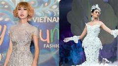 Lynk Lee diện tóc mới 'đánh chiếm' thảm đỏ, siêu mẫu Võ Hoàng Yến hóa 'cô dâu ma' lướt như bay trên sàn catwalk