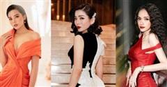 Lệ Quyên, Hương Giang cùng dàn Hoa, Á hậu đọ sắc 'cực gắt' trong đêm thi Hoa hậu Việt Nam 2020