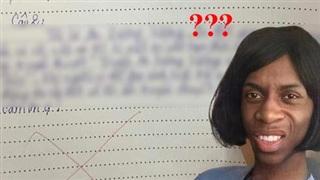 Học sinh làm bài kiểm tra Văn, viết đúng 6 dòng mà khiến giáo viên nổi quạu, cộng đồng mạng phì cười: Á à đồ lươn lẹo!