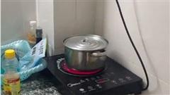 Chiếc nồi 'nhảy tưng tưng' trên bếp nhưng kỳ lạ nhất là trạng thái sau khi được… ra lệnh